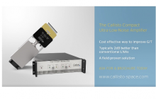 Callisto wins a contract to supply 2 units of the K-Band (20GHz) Compact Cryo LNAs
